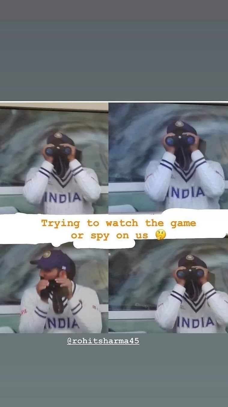 wtc final, india vs new zealand, wtc final viral news, Mohammed Siraj, Mohammed Siraj walkie talkie, rohit sharma, ind vs nz, wtc 2021 news