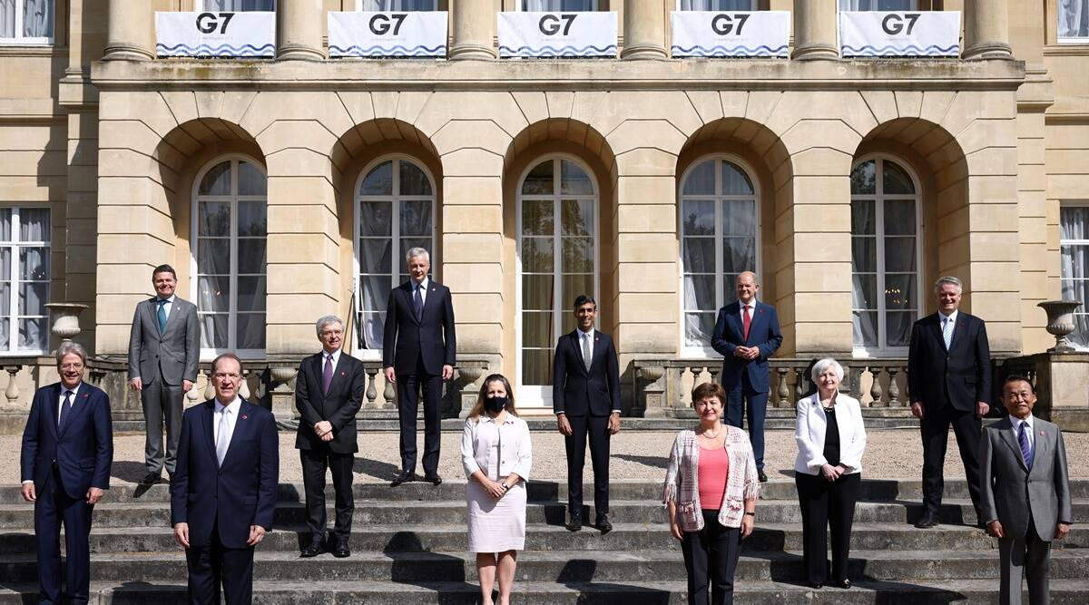 G7, G& nations, finance ministers meeting