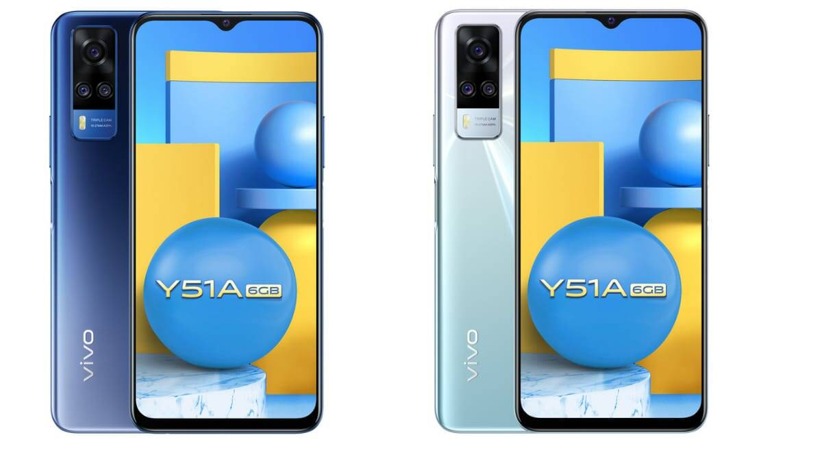 Vivo, Vivo Y51A 64GB, Vivo Y51A 64GB variant, Vivo Y51A specs, Vivo Y51A price, Vivo Y51A launch, Vivo Y51A features,