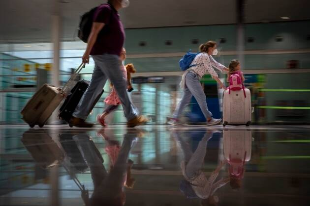 Europe reopens, pandemic tourism, Barcelona, Spain