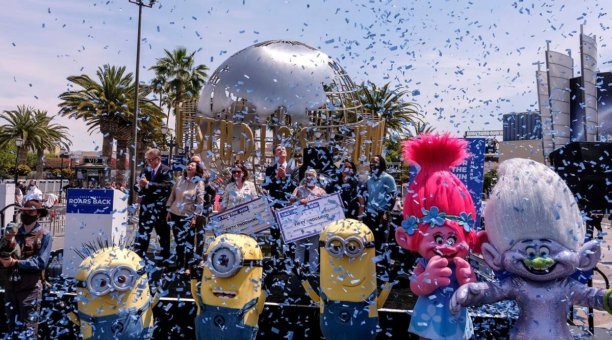 California celebrates reopening as many pandemic rules end