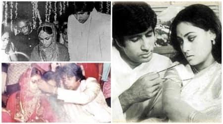 Amitabh Bachchan and Jaya Bachchan's 48th anniversay