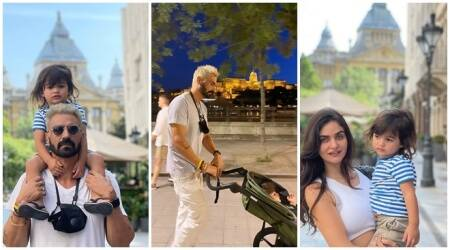 Arjun Rampal spends some 'quality time' with family in Budapest