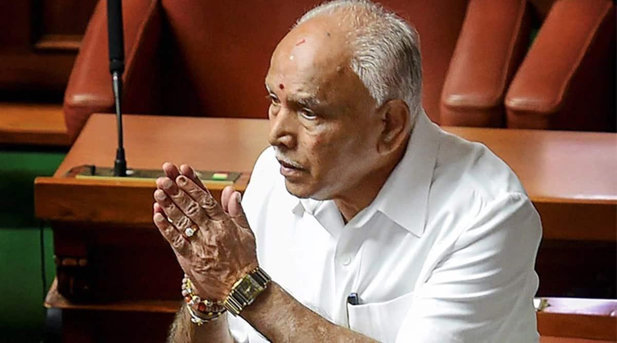 BSY upbeat as BJP gen secy appraises govt work