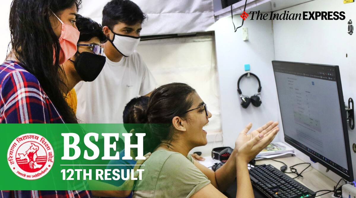 BSEH 12th result, haryana board 12th result