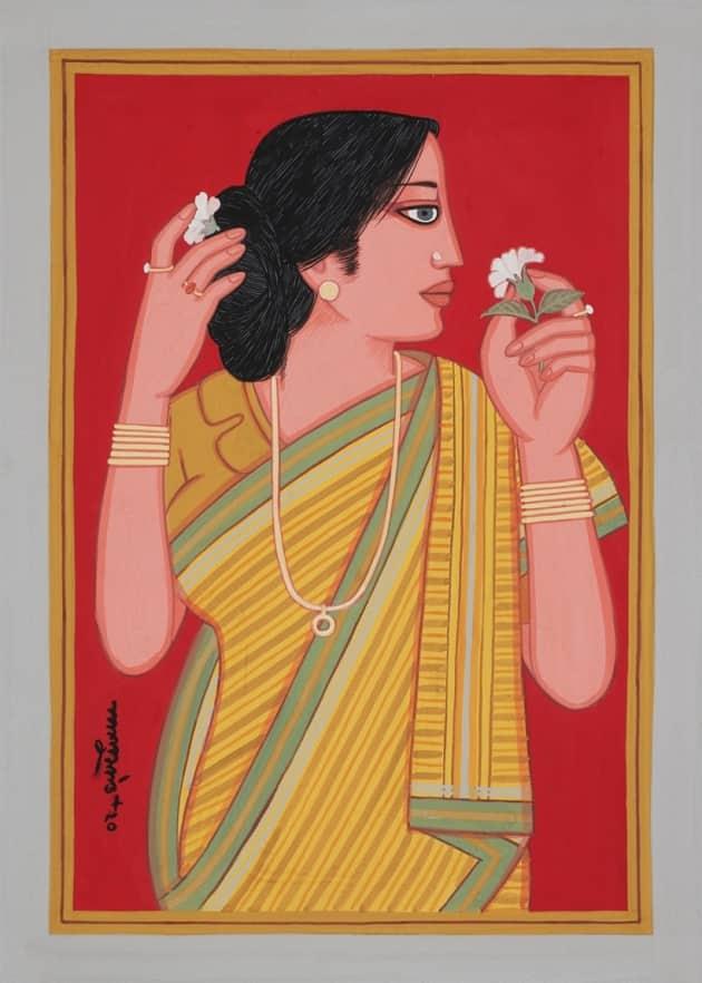 Lalu Prasad Shaw, NFTs, NFTs in India, Lalu Prasad Shaw Bengal artist, indianexpress.com, terrain art, digital art shaw, who is lalu prasad shaw, south asian art,