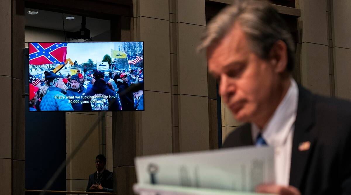 Capitol Hill investigation, Chris Wray
