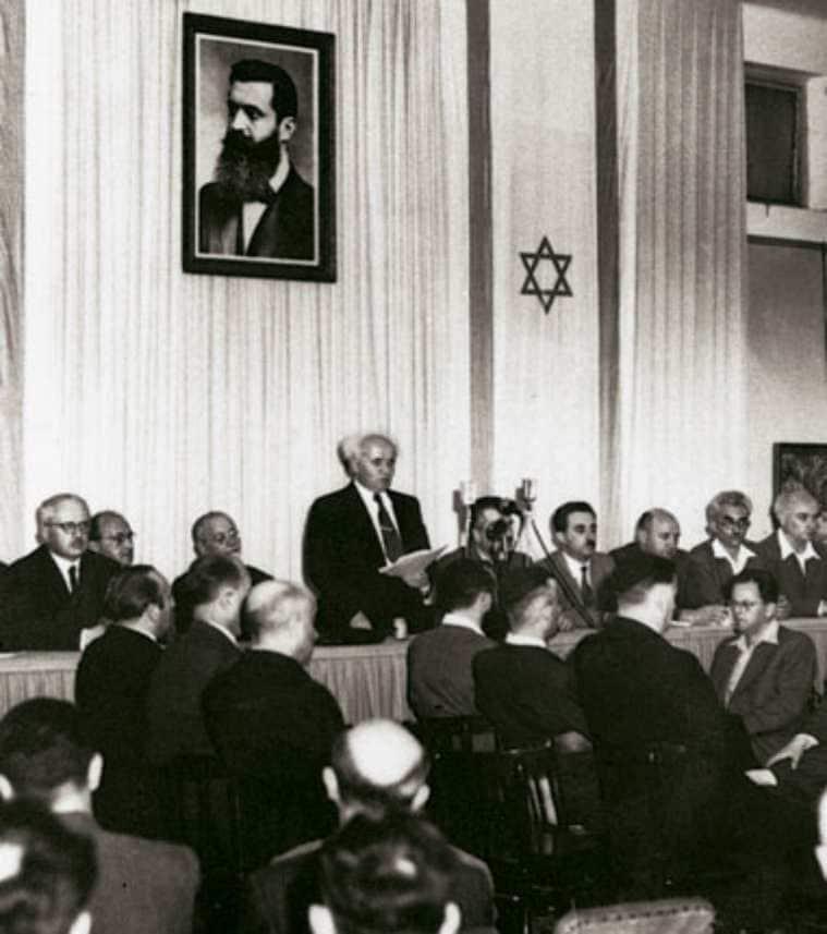 Israel, Israel new government, Israel prime minister, Naftali Bennet, Benjamin Netanyahu, David Ben Gurion, Israel Palestine conflict, Israel news, Palestine news, world news, Indian express