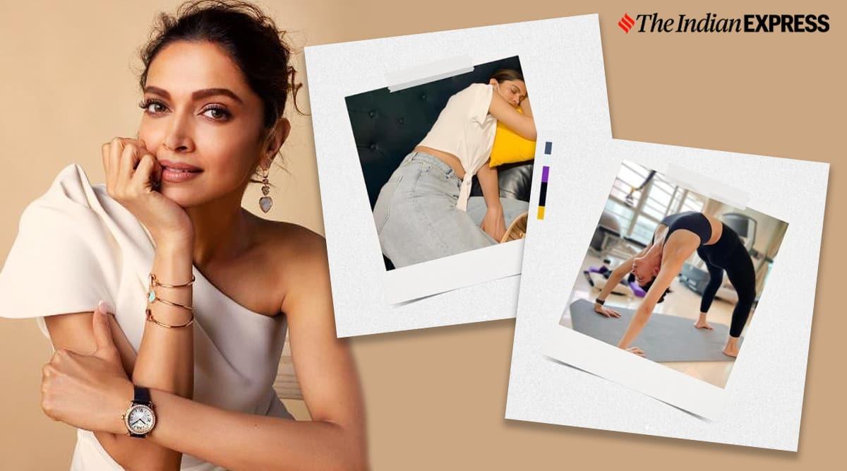 Deepika Padukone, Deepika Padukone news, Deepika Padukone fitness, Deepika Padukone yoga, Deepika Padukone expectation vs reality, Deepika Padukone Instagram, Deepika Padukone photos, indian express news