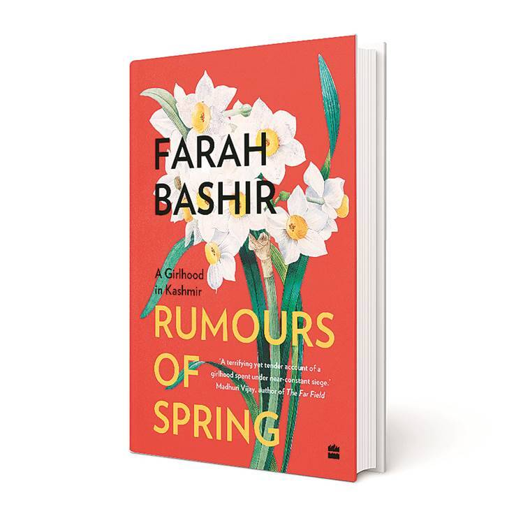 Farah Bashir's Rumours of Spring, book, strife-torn Srinagar in the 1990s, personal account, eye 2021, sunday eye, indian express news
