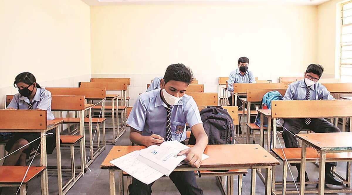 Gujarat news, 12th Board exams news, class 10 board exam news, class 10 exam certificate, indian express news, schools in shifts, adjust extra students, Gujarat latest news