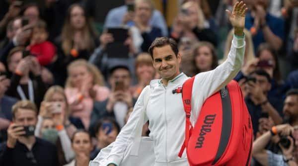 Roger Federer, Roger Federer english, roger federer english medium, roger federer funny interview, roger federer vs Adrian Mannarino, wimbledon 2021