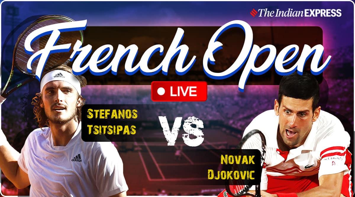 french open, Djokovic vs Tsitsipas