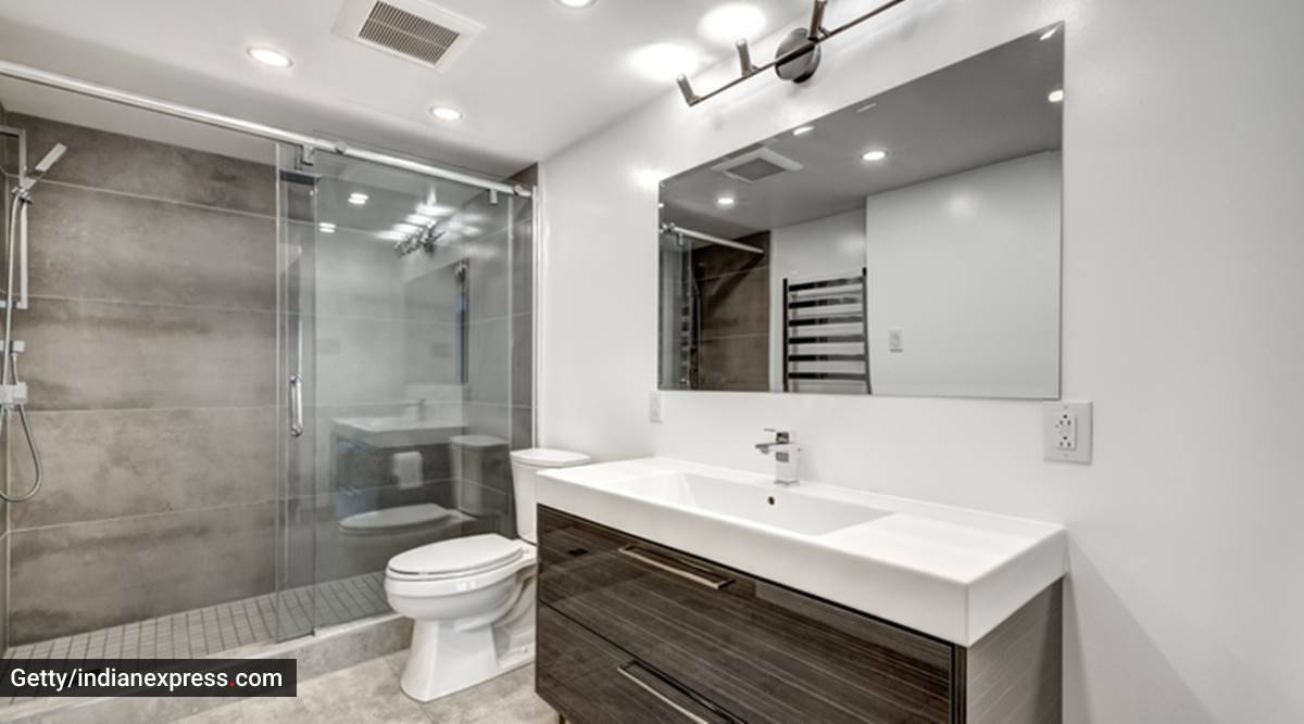 bathroom redesigning, bathroom aesthetics, things to keep in mind while modelling bathroom, installing a bathroom, indian express news