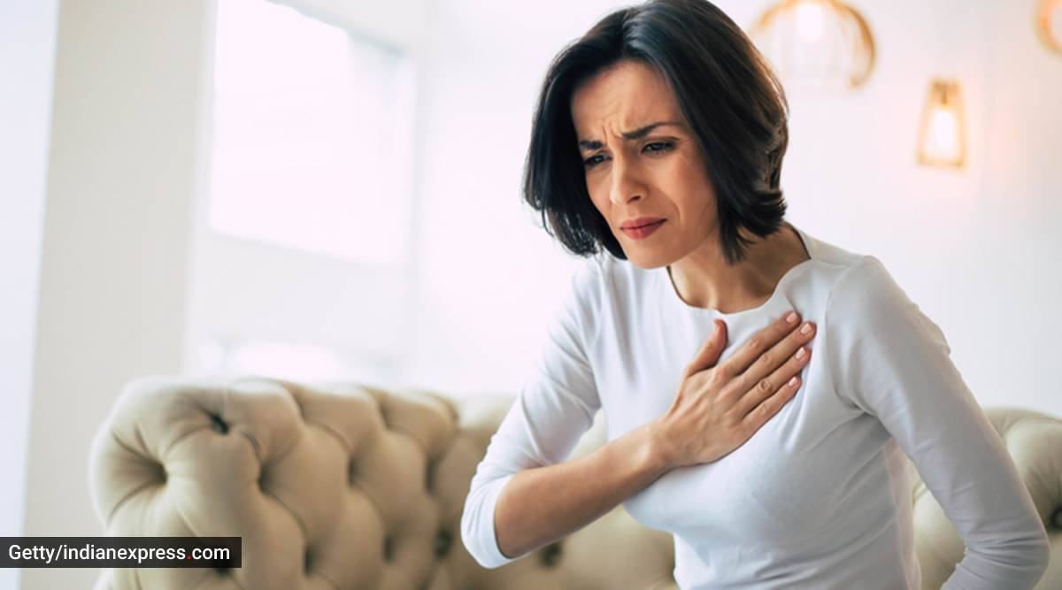 Covid-19 and heart health, cardiovascular health and Covid, cardiovascular complications in Covid, COVID-19 heart attack, heart health, indian express news