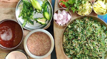 Shalini Rajani, eat healthy gluten-free Sindhi thali, chef shalini rajani, world environment day cooking, eat organic products, organic ingreadients, indianexpress.com