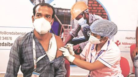 West Bengal government, vaccination, Covid-19 India Second Wave, Mamata Banerjee, Kolkata news, Kolkata latest news, Kolkata local news, indian express