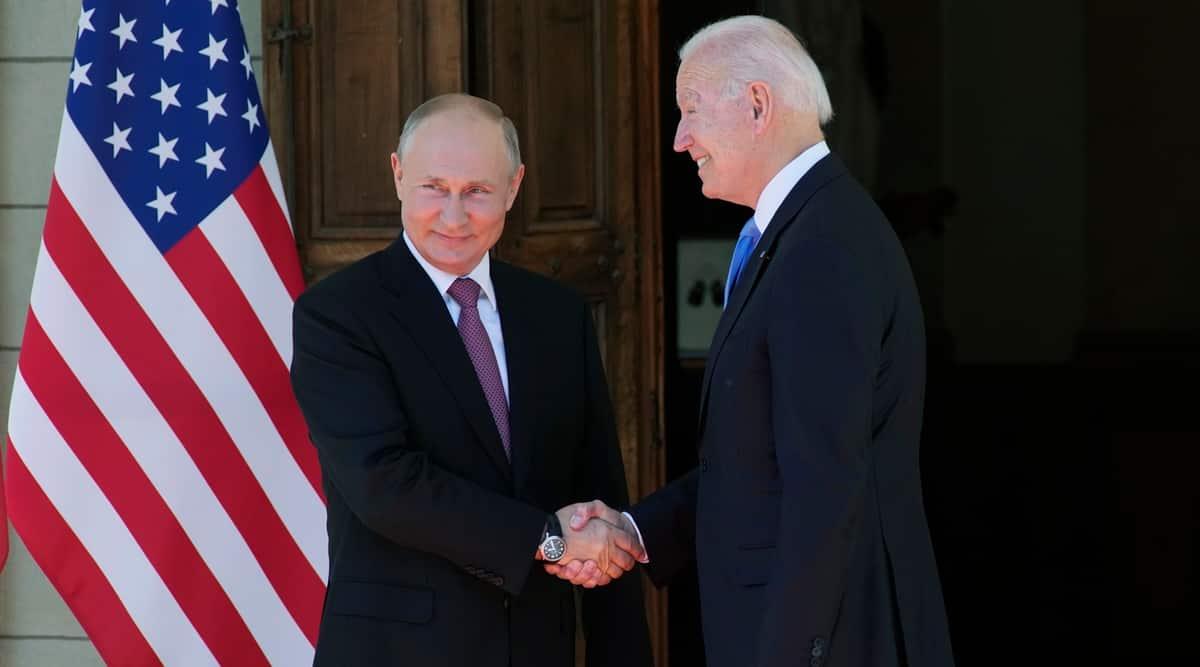 Joe Biden Vladimir Putin, putin biden, Putin Biden meeting, Joe Biden Putin meeting, putin biden summit, biden putin meeting news, US russia meeting,