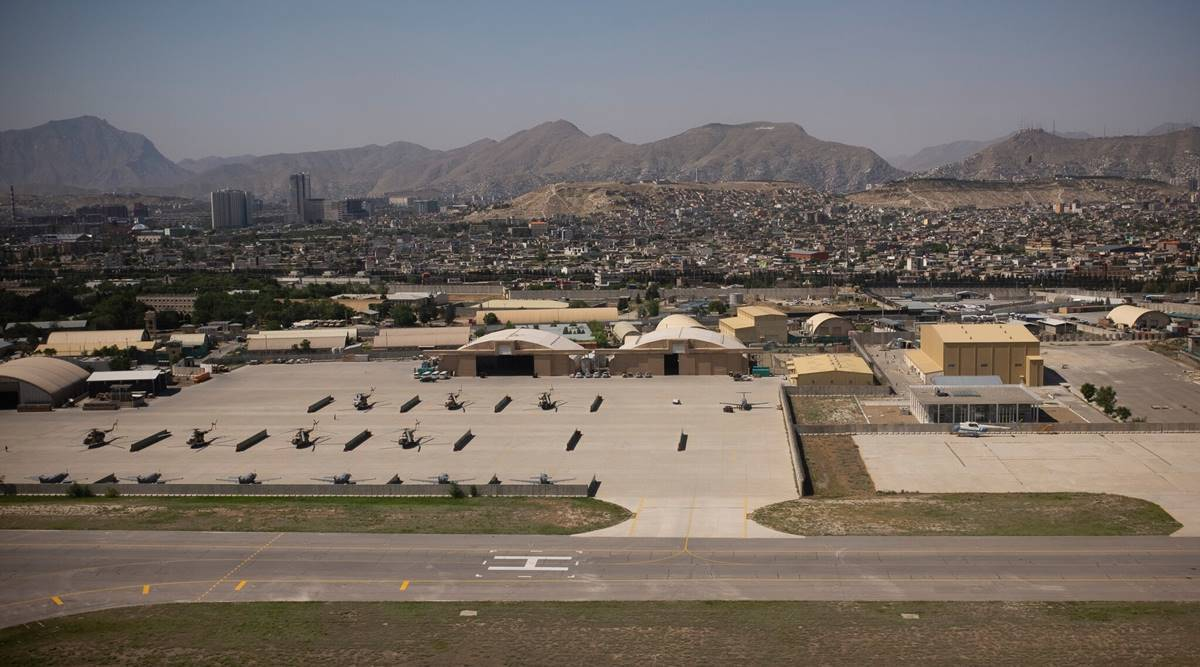 As the US pulls out of Afghanistan, Kabul's Airport is a final stand