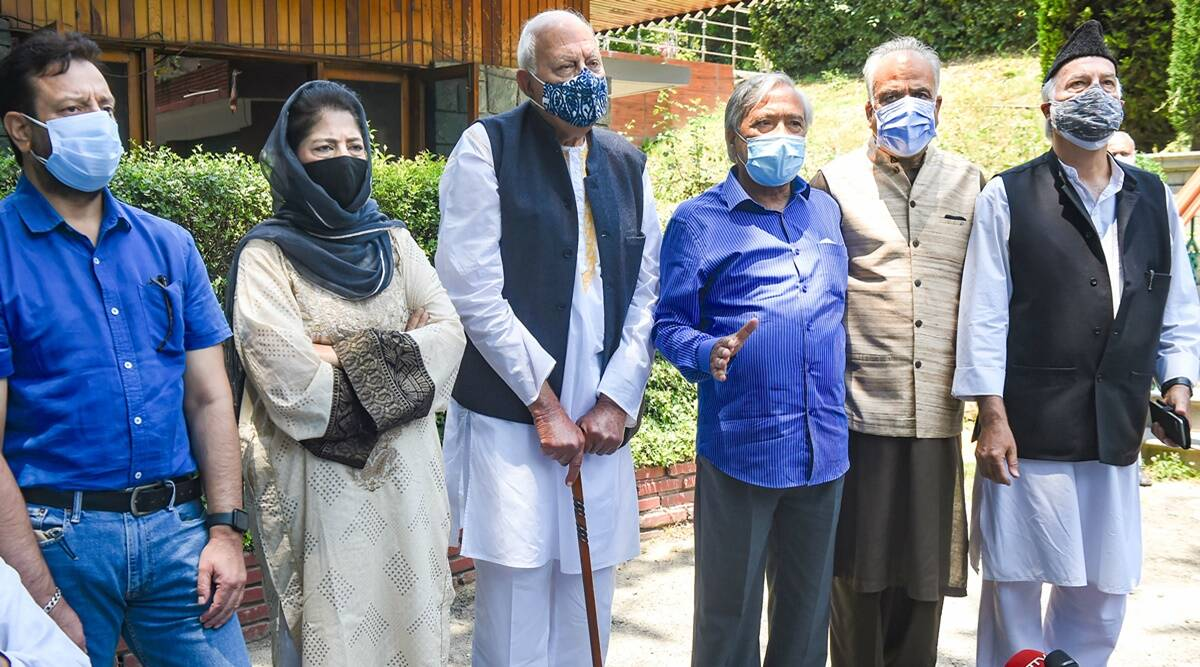PM Narendra Modi Led All-Party Meeting with Jammu and Kashmir Leaders Today