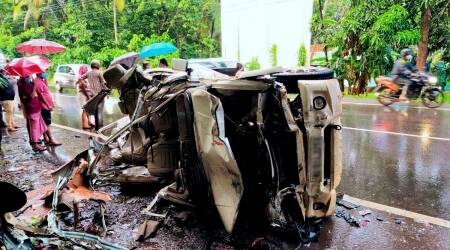 Kerala accident, car accident in Kozhikode