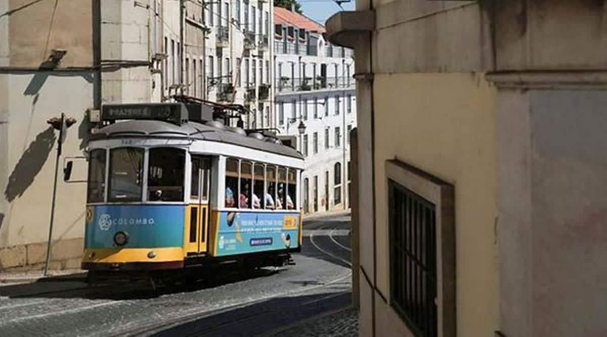 yellow trams of Lisbon, trams of Lisbon, Portugal trams, Paulo Marques restoring trams, Paulo Marques Lisbon, tram restoration, indianexpress.com