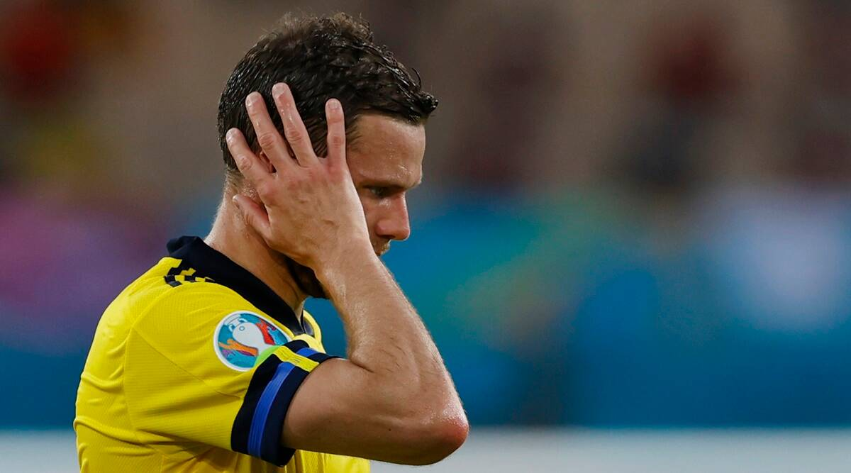 Marcus Berg threatened online after Euro 2020 match against Spain, Sweden file police report