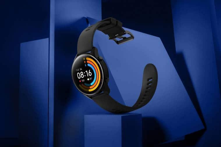 mi watch revolve active, mi watch revolve active price in India