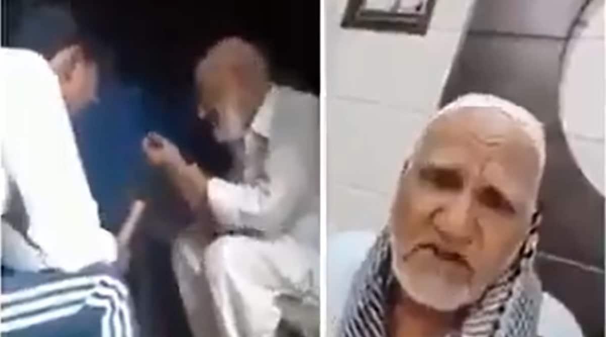 Muslim man, Loni, attack