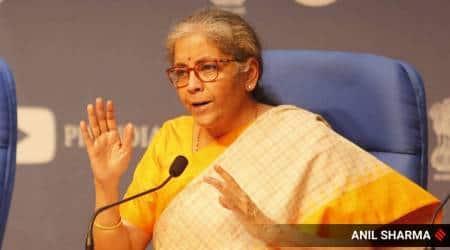 GST council meeting, Nirmala Sitharaman, Nirmala Sitharaman on GST, GST on Covid vaccines, GST Council Meeting, financial news, finance minister announcement, gst announcement, Indian Express