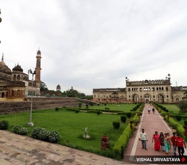 Bara Imambara, Bara Imambara in Lucknow, reopening of Bara Imambara, tourists visiting Bara Imambara, Bara Imambara pictures, Bara Imambara photos, Bara Imambara gallery, Indian Express, Indian Express news