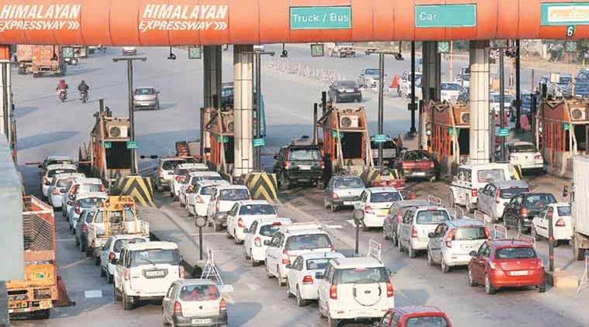 RFID tag, delhi rfid tag, delhi mcd rfid tag recharge, delhi rfid tag cost, rfid south delhi mcd, rfid tag autosweep, Delhi traffic rules, Delhi toll tax, Delhi challan, Delhi traffic police, RFID tags, RFID must to enter Delhi, Delhi news, Indian express