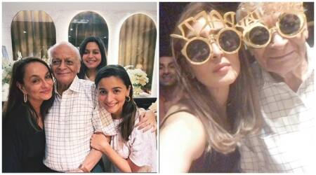 Ranbir Kapoor's family joins the Bhatts for Alia grandfather 93rd birthday