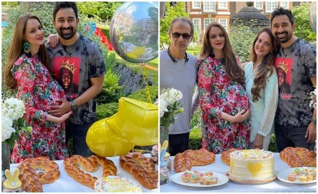 Rannvijay Singha and wife Prianka Singha get a surprise baby shower, see photos