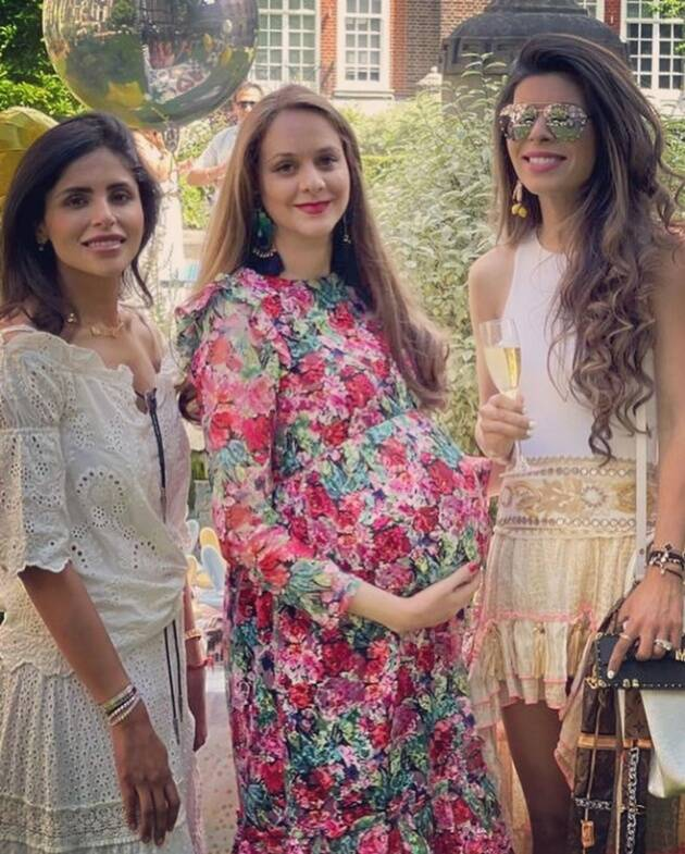 Rannvijay Singha wife Prianka Singha baby shower photo