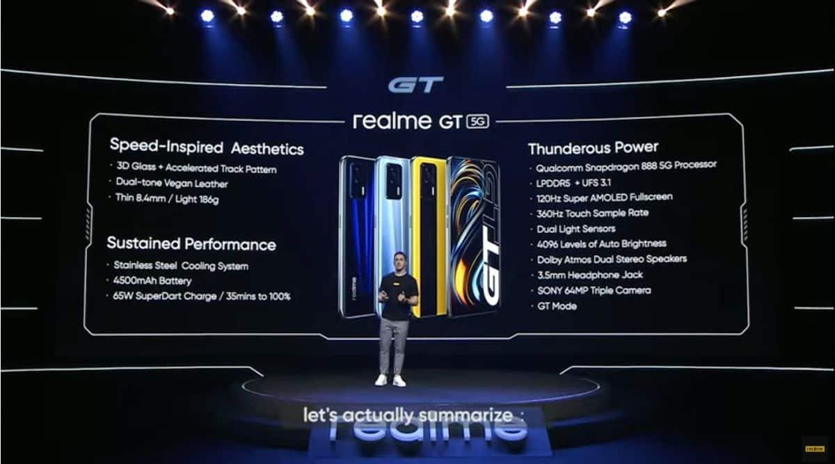 Realme, Realme GT, Realme GT launch, Realme IGT India launch, Realme GT specs, Realme GT features, Realme GT price,