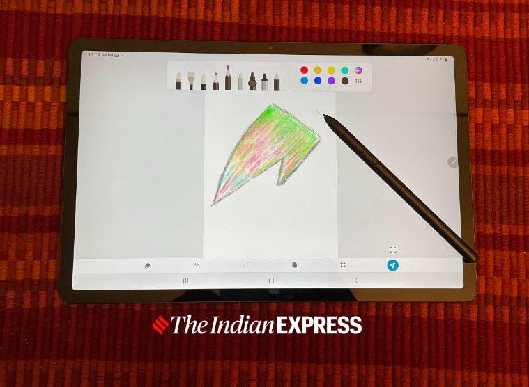 Samsung Galaxy Tab S7 FE, Galaxy Tab S7 FE review, Galaxy Tab S7 FE price in India, Galaxy Tab S7 FE specs, Galaxy Tab S7 features, Galaxy Tab S7 vs iPad Air 2020