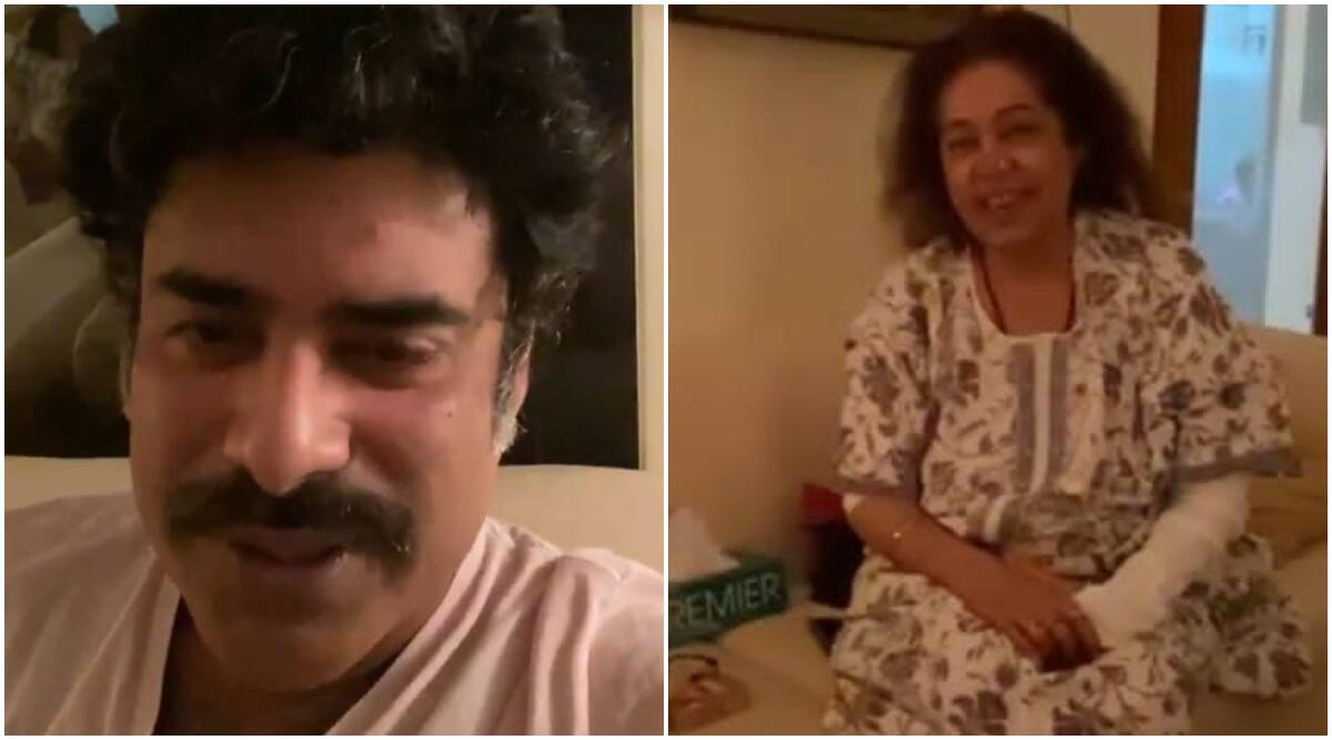 Kirron Kher, fighting cancer, appears in the video of his son Sikandar Kher and asks him to marry