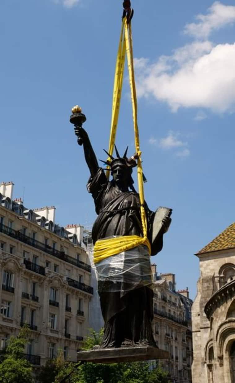 Statue of Liberty, Statue of Liberty replica, Statue of Liberty replica Franco-American friendship, where is Statue of Liberty, Statue of Liberty replica Washington D.C