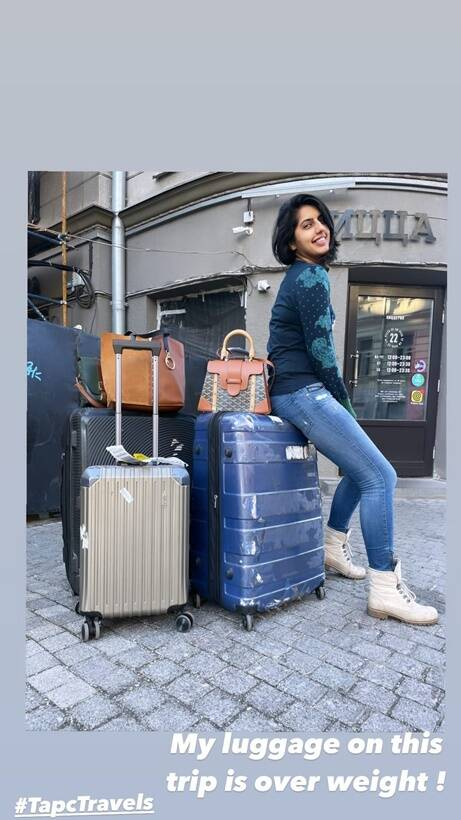 Taapsee Pannu vacation pic