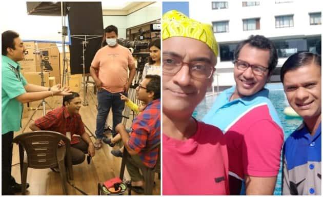 Taarak Mehta Ka Ooltah Chashmah cast BTS photos from workation in Daman