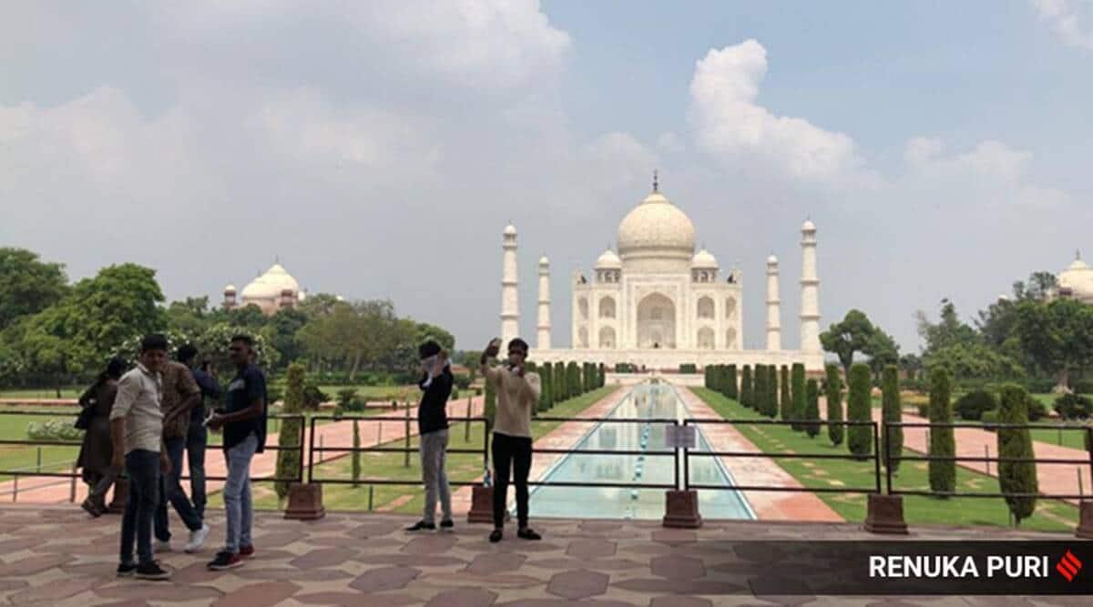 Taj Mahal, Taj Mahal reopens, Taj Mahal covid pandemic, Taj Mahal tourists, Taj Mahal daily footfall, Taj Mahal history, Taj Mahal daily number capped