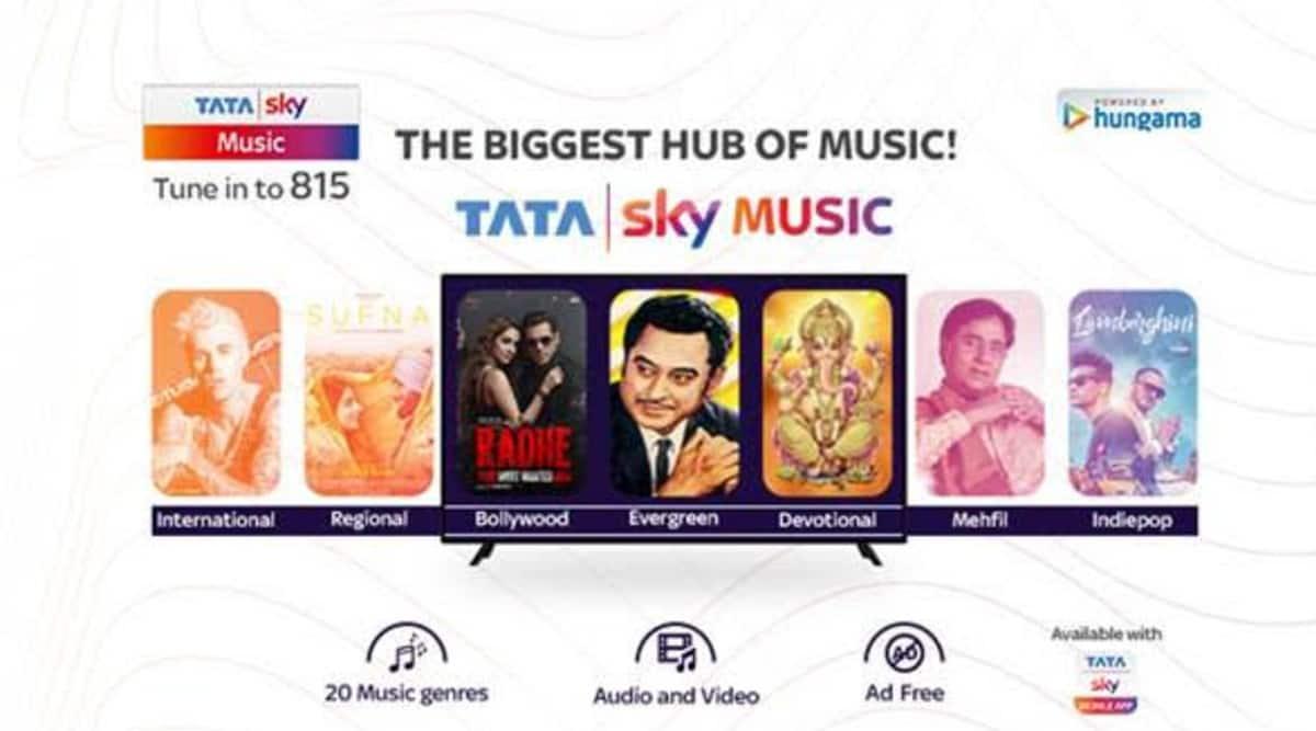tata sky, tata sky music, tata sky app, tata sky mobile app, tata sky music service, tata sky update