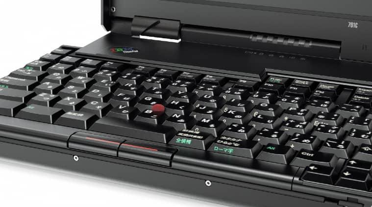 IBM ThinkPad 701C, IBM ThinkPad 701C butterfly keyboard, IBM ThinkPad 701C history, John Karidis IBM, Lenovo, Lenovo ThinkPad, Dilip Bhatia Lenovo
