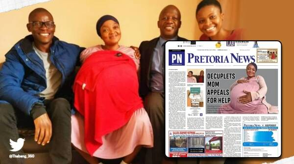 South Africa, 10 babies, fact check, Woman gives birth to 10 babies, Woman gives birth to 10 babies Guinness world record, Gosiame Sithole , IOL news exclusive, Piet Rampedi, Piet Rampedi exclusive, Piet Rampedi fake story, Piet Rampedi trending Twitter, Trending news, Indian Express news