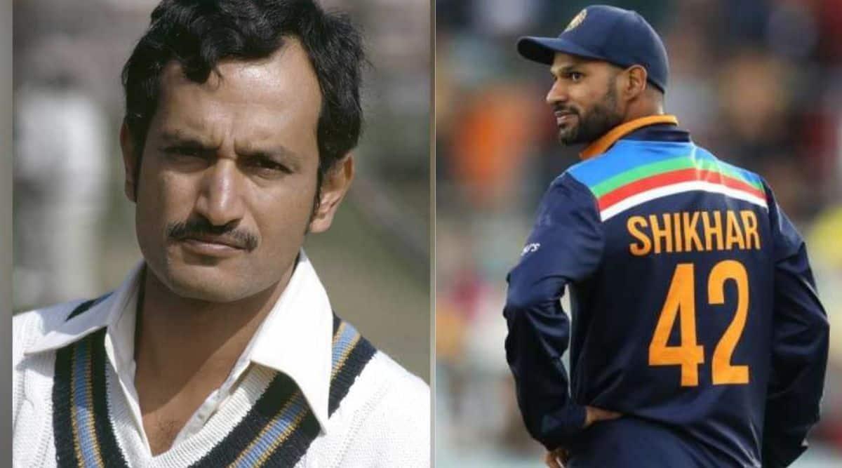 Ajit Wadekar, Shikhar Dhawan, India's ODI captains