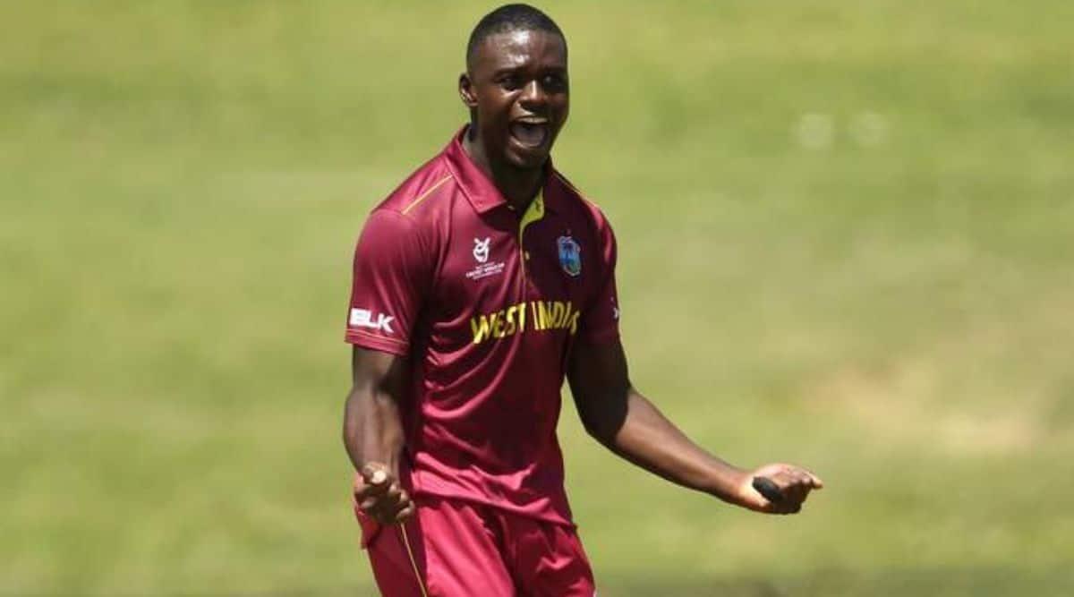 Jayden Seales, Jayden Seales Windies cricket, Jayden Seales in Windies team, WI vs SA