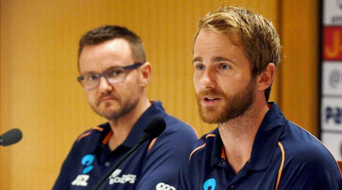 Mike Hesson and KAne Williamson