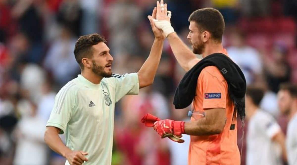 Unai Simon, Spain vs Croatia, Euro 2020, Croatia vs Spain highlights
