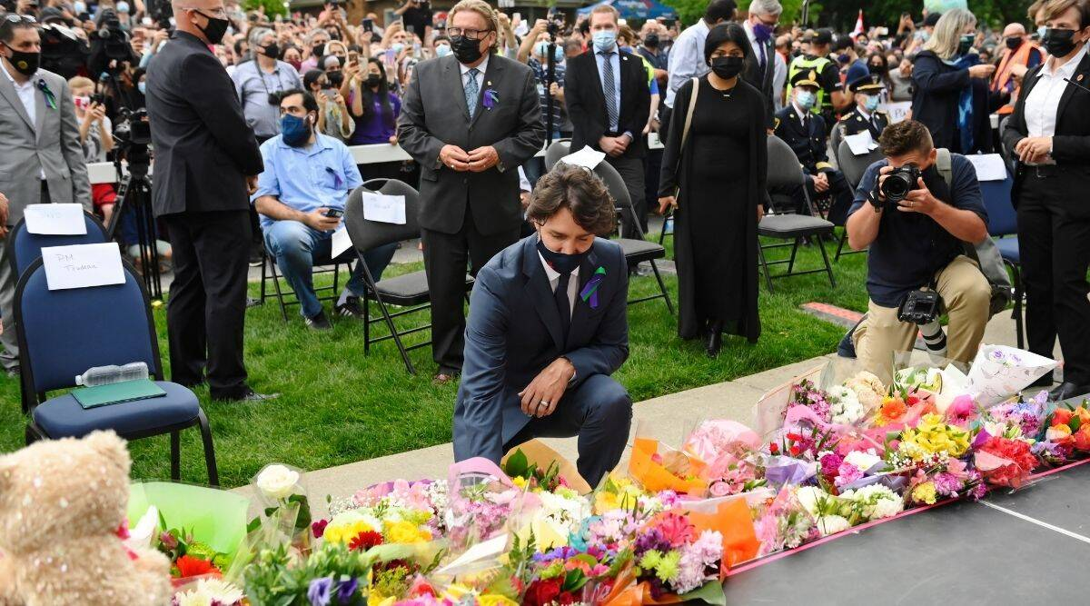 Canada PM Justin Trudeau denounces truck attack that targeted Muslim family